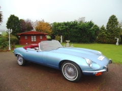 Jaguar V12 Roadster  1972 £145,500