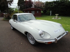 Jaguar 2+2 white auto £68,750