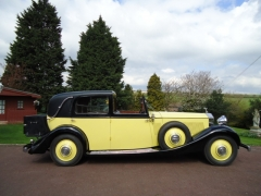 Rolls Royce P11 Sedanca yellow
