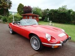 jaguar E type V12  135500